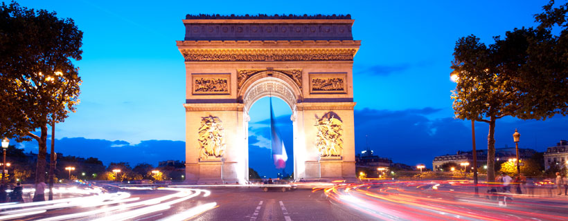 3 Nights 4 Days Paris Vacation Travel Packages