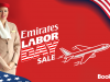 Emirates Labor Day Special Sale