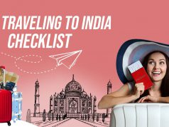 Traveling to india checklist