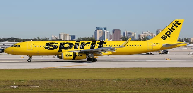 Spirit Best Airlines in the US