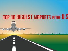 Biggest airports in the US